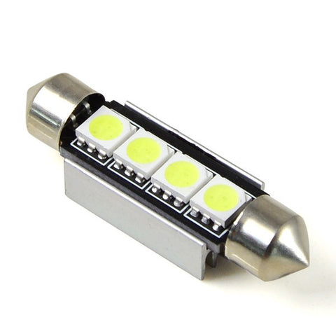 42MM 4 LED CANBUS Festoon Bulb - Aurora Bulbs
