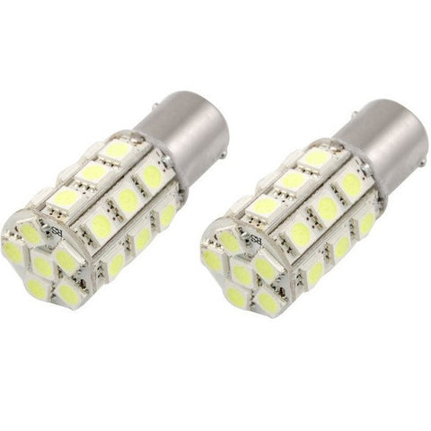 BA15S/1156/P21W 27 LED 360° BULBS (PAIR) - Aurora Bulbs