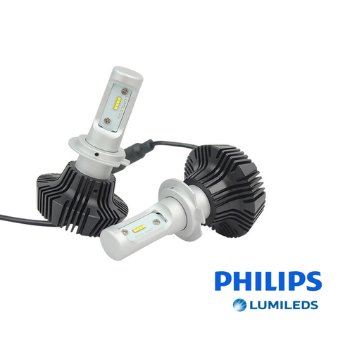 7G Philips LUMILEDS  LED 4000 Lumens Headlight Conversion Kit - Aurora Bulbs  - 1