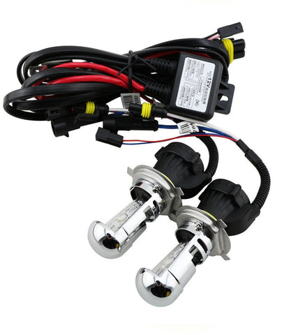 H4-3 BI-XENON HID BULBS (PAIR) - Aurora Bulbs  - 2