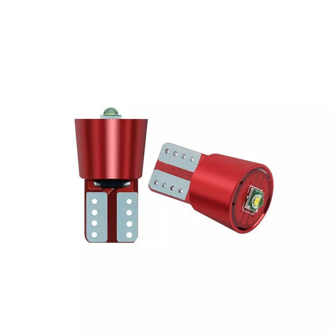 T10/501/W5W CREE LED 3W - RED EDITION - CANBUS ERROR FREE