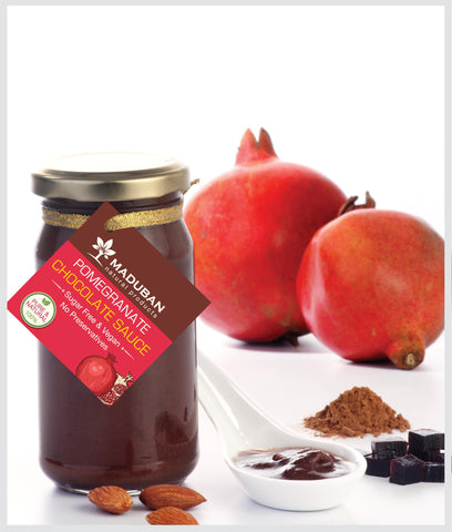 Pomegranate Chocolate Sauce (Available for delivery only within Bangalore)
