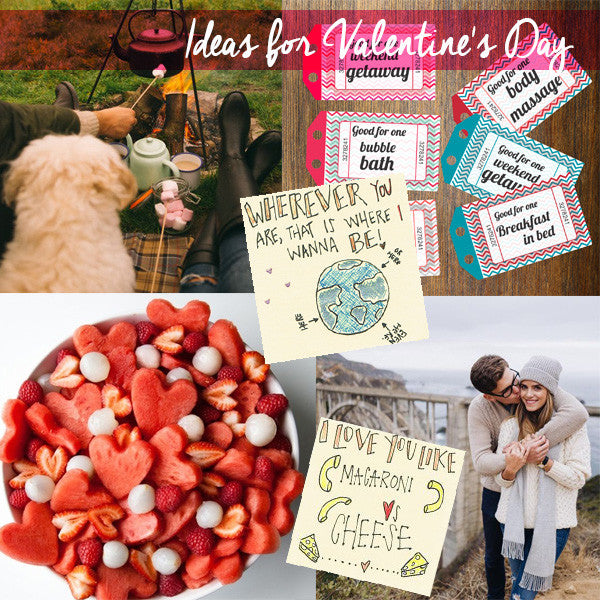 5 ideas for Valentine's Day