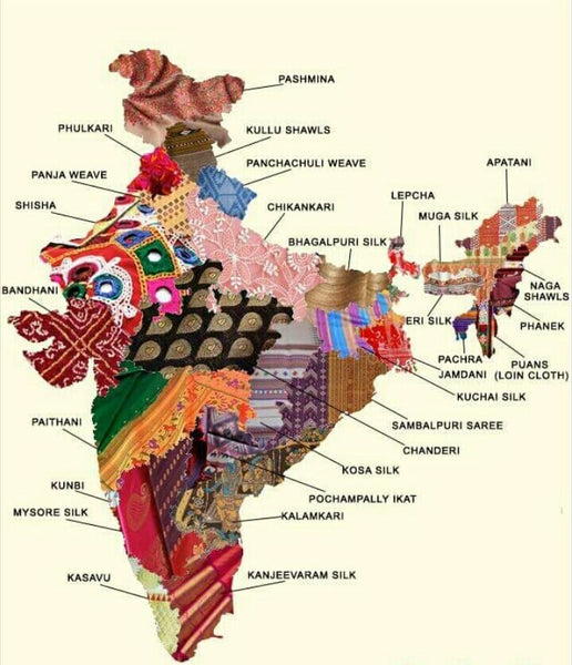 Know the Richness of Indian Textiles