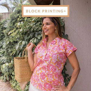 Clothes in Block Printing