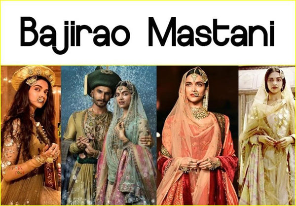 Bollywood movie Bajrao Mastani and its costumes