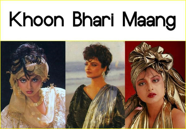 Bollywood movie Khoon Bhari Maang and its costumes