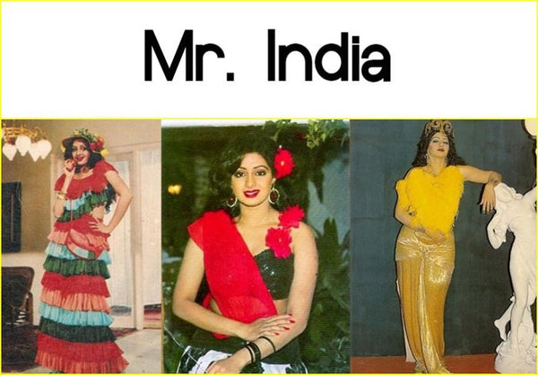 Bollywood movie Mr India and its costumes