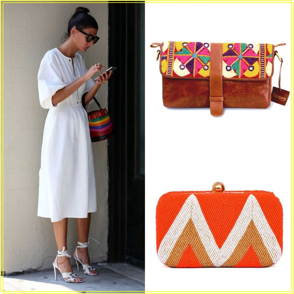 how to style happee handbags