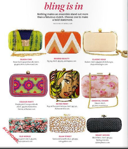 happee clutch at better homes and gardens magazine