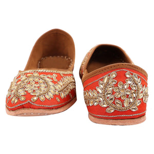Hand embroidered Indian shoes online