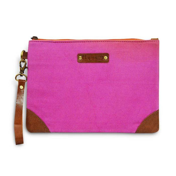 Canvas Pouch - Pink