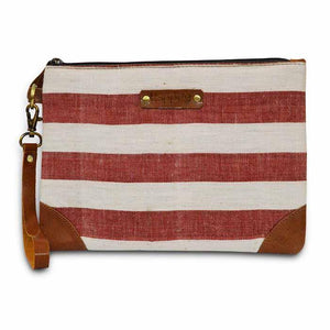 Kala Cotton Pouch - Striped