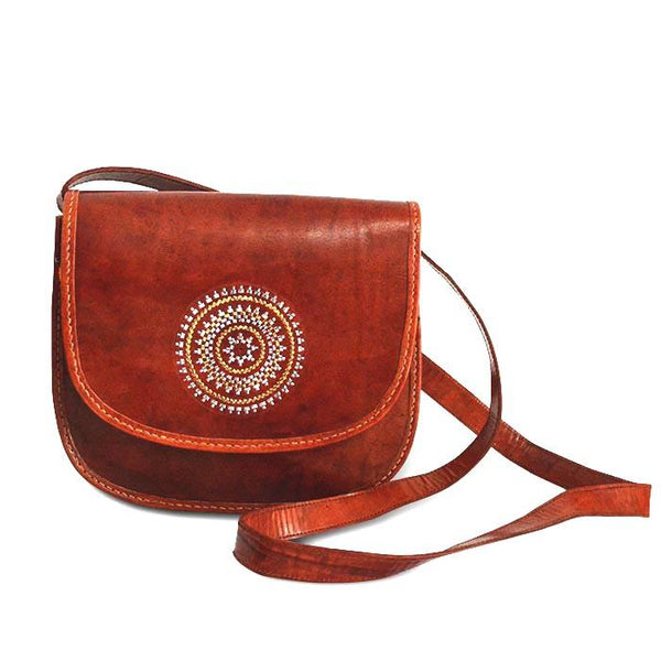 Mandala Sling bag - Brown