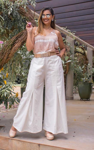 Palazzo Pants in Organic Cotton