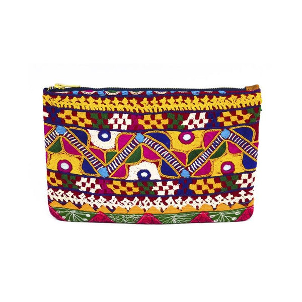 Banjara Hand Embroidery Cosmetic Pouch