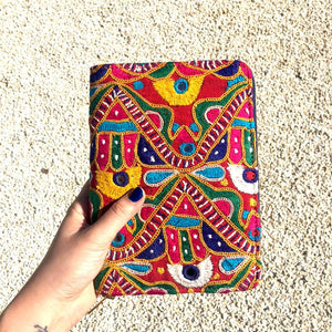 Vintage Banjara Embroidered Women Square Wallet