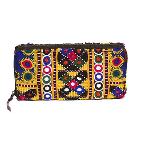 Vintage Banjara Embroidered Women Coin Wallet Purse