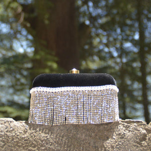 Black Velvet Clutch - Yak