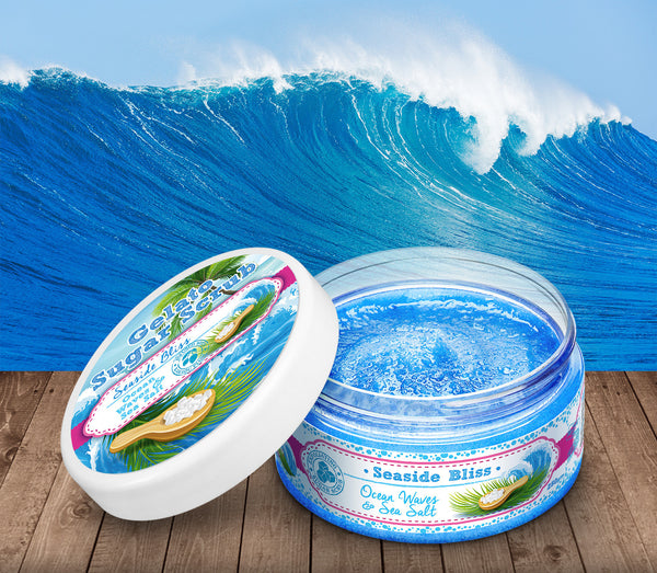 Seaside Bliss Sugar Scrub - Soapy Sweets - 1