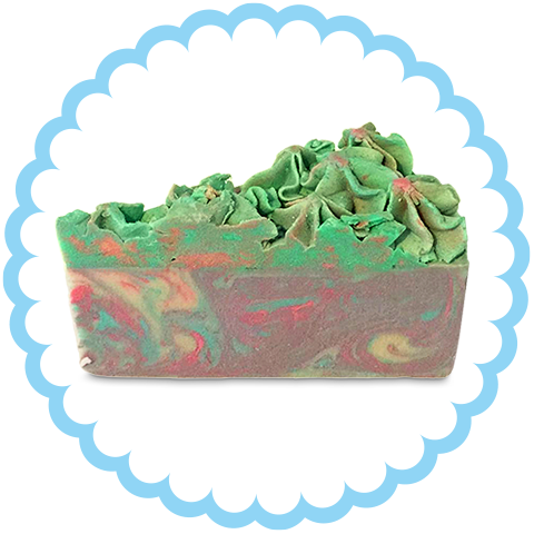 Tropical Temptation Cake of Soap - Soapy Sweets