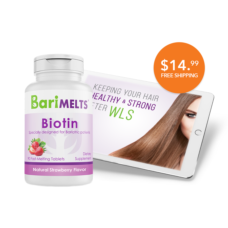 Biotin + Keeping Your Hair Healthy and Strong After WLS eBook