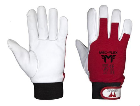 Mec-Flex GoatSkin Grain Leather Rigger Glove # GSG