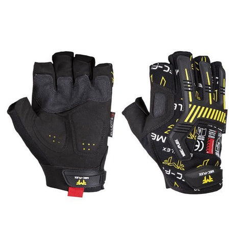 Mec-Flex IMPACT X3 Fingerless Glove