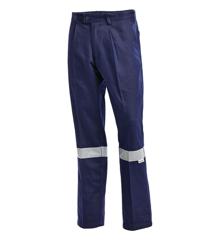 Workit Cotton Drill Pants with Tape #1002
