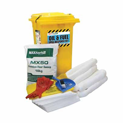 120L Oil & Fuel Spill Kit #MAX-120HC