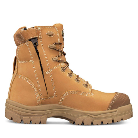 Oliver 45 Series Black or Wheat 150mm Zip Sided Boot c/w Bump Cap