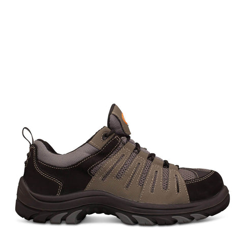 Oliver 44 Series Grey/Black Lace Up Safety Shoe #44-515