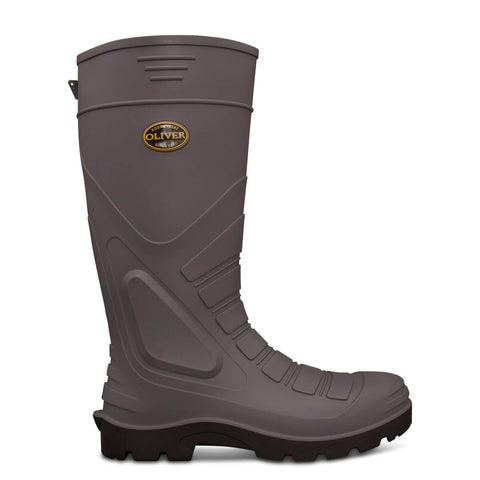Oliver Grey Safety Gumboot #22-205