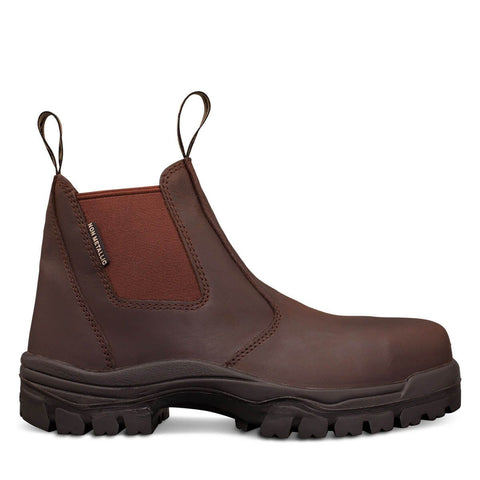 Oliver 45 Series Brown Elastic Sided Boot #45-627