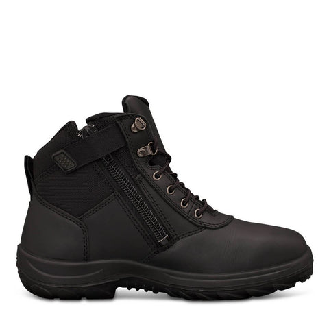 Oliver 26 Series Black Zip Sided Non Safety Boot #26-660