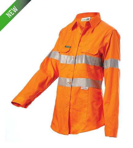 Workit Coolkit Ladies Hi Vis Taped Shirt #2016