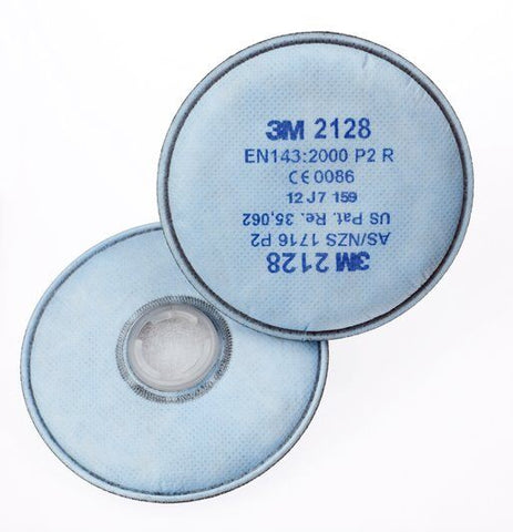3M™ 2128 Filter Disc Particulate GP2 OV/AG 2000