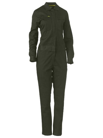 Bisley Womens Cotton Drill Coveralls BCL6065