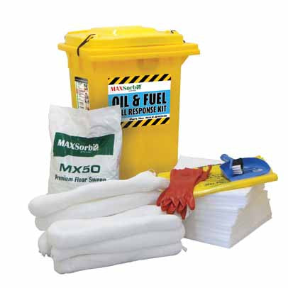 240L Oil & Fuel Spill Kit #MAX-240HC