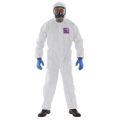 Microgard 1500 Type 5 & 6 Disposable Coverall (White)