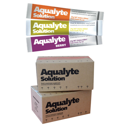 Aqualyte Mixed Flavours 25g Sachets