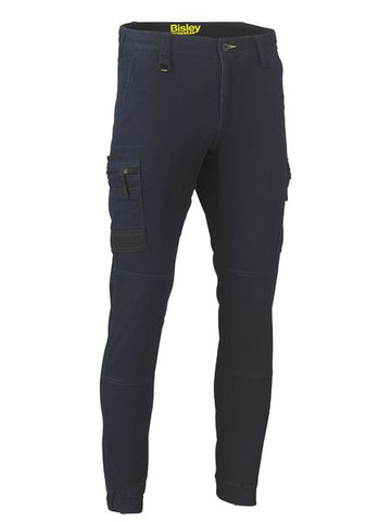 Bisley Flex & Move™ Denim Cargo Cuffed Pants BPC6335