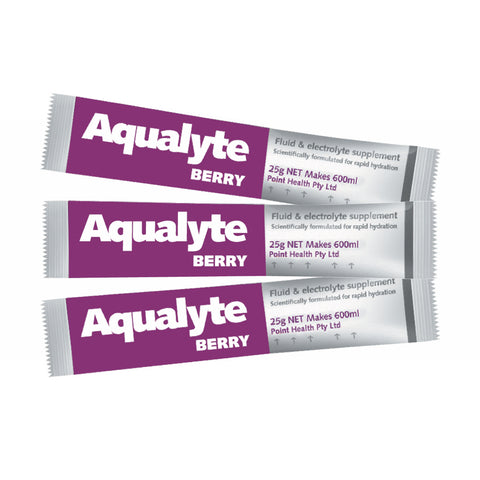Aqualyte Sample Pack 25g Sachets