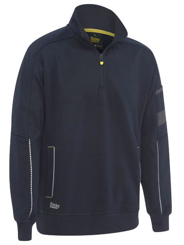 Bisley 1/4 Work Fleece Pullover BK6924