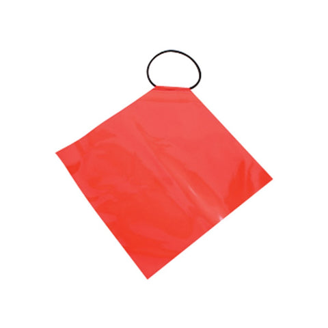 Oversize PVC with Elastic Tie On Flag 450mm