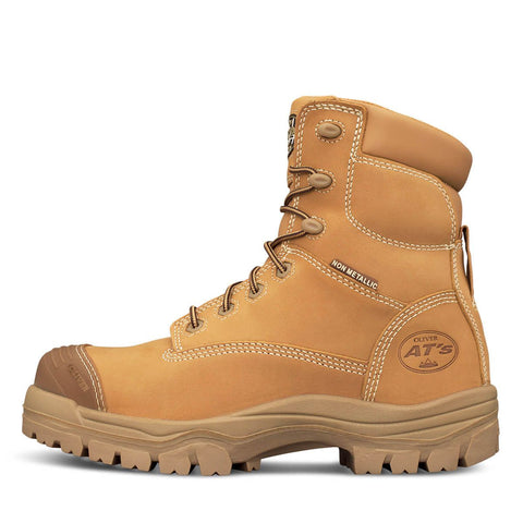 a54f4c97794 Oliver 45 Series Black or Wheat 150mm Zip Sided Boot c/w Bump Cap