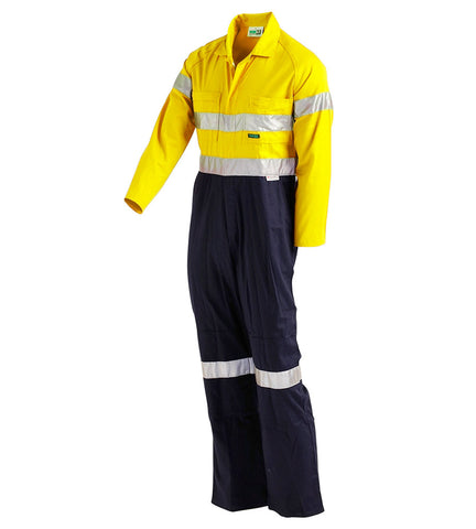 Workit Coolkit 2 Tone Coverall with Tape #4002