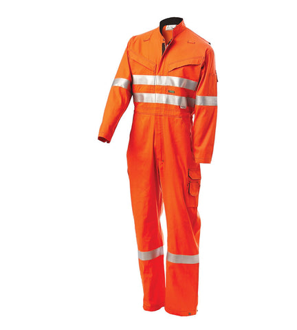Workit Inherent HRC1 Coveralls With (FR) Venting And Contrast Stitching #4701