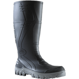 Bata - Jobmaster 3 Black/Grey PVC 400mm Safety Gumboots #892-62290