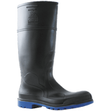 Bata - Utility 400 Black/Blue PVC 400mm Safety Toe & Midsole Gumboot